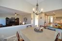 Breakfast Room is Open to the Family Room - 37894 ST FRANCIS CT, PURCELLVILLE
