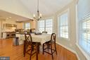 Breakfast Room is Open to the Kitchen - 37894 ST FRANCIS CT, PURCELLVILLE