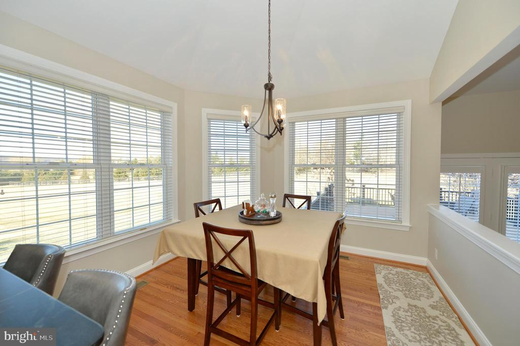 Breakfast Room with Lovely Views - 37894 ST FRANCIS CT, PURCELLVILLE