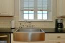Kitchen's SS Farm Sink - 37894 ST FRANCIS CT, PURCELLVILLE