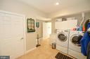 Laundry Room with HE Front Load Washer/Dryer - 37894 ST FRANCIS CT, PURCELLVILLE