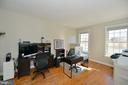French Doors Open to Private Study/Office - 37894 ST FRANCIS CT, PURCELLVILLE