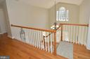 Hardwood Upper Level Hall - 37894 ST FRANCIS CT, PURCELLVILLE