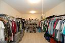 Extraordinary Owners Walk-in Closet - 37894 ST FRANCIS CT, PURCELLVILLE