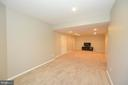 Lower Level Recreation Room View 2 - 37894 ST FRANCIS CT, PURCELLVILLE