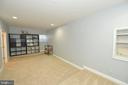 Lower Level Media Room with Raised Flooring - 37894 ST FRANCIS CT, PURCELLVILLE