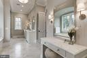 Luxurious Master Bath - 1418 KIRBY RD, MCLEAN