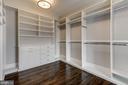 Walk-In Closet - 1418 KIRBY RD, MCLEAN