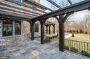 Terrace with Pergola - 1418 KIRBY RD, MCLEAN