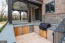 Outdoor Kitchen - 1418 KIRBY RD, MCLEAN