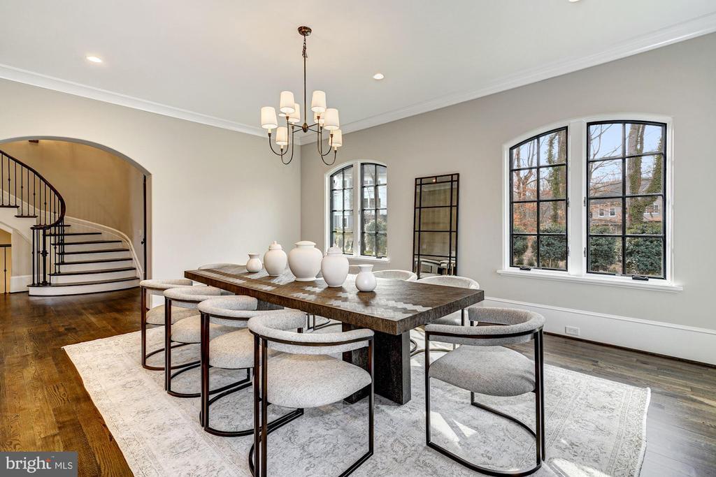 Dining Room - 1418 KIRBY RD, MCLEAN