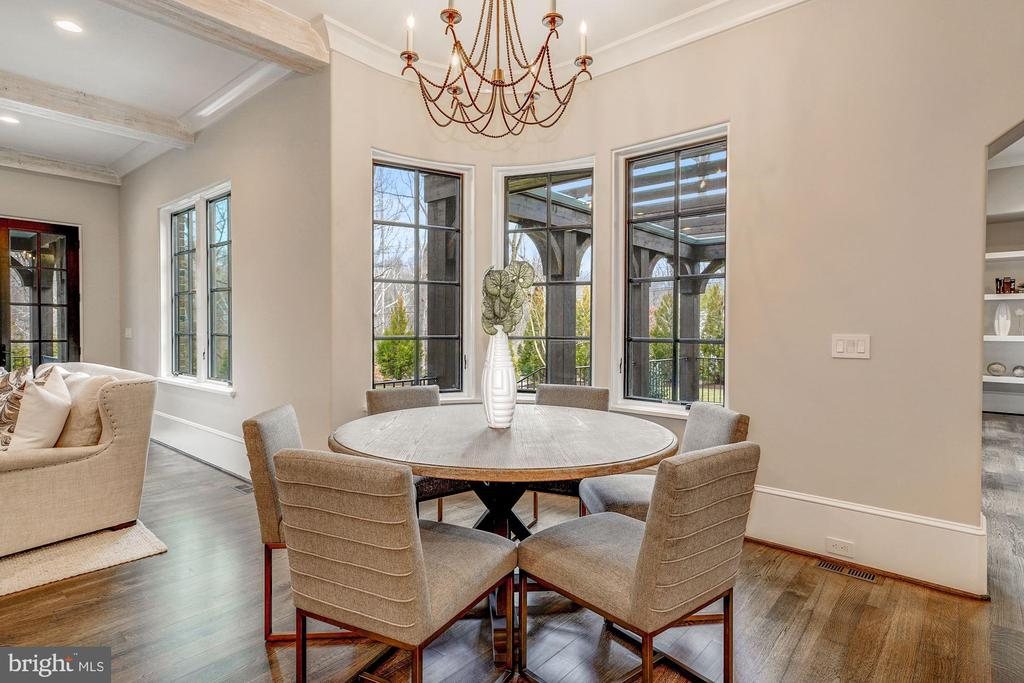 Breakfast Room - 1418 KIRBY RD, MCLEAN