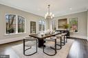 Dining Room - 1418 KIRBY RD, MCLEAN
