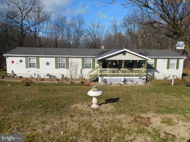 2154 FORD HILL ROAD, AUGUSTA, WV 26704
