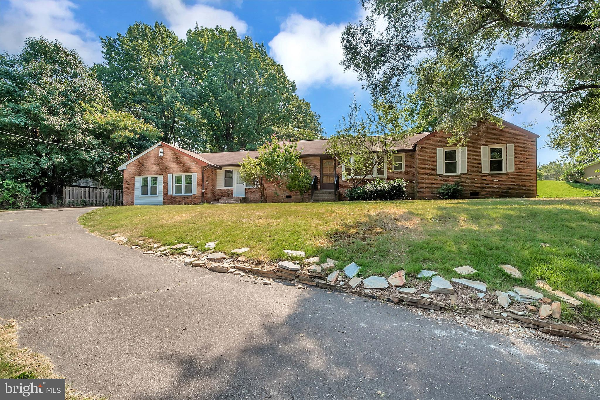 Great Location for this super cute rambler.  Kitchen has a lot of space for any cook.  Hard wood floors through out most of the home.   What a great yard!!  Please stop by to see it! You will not be disappointed!