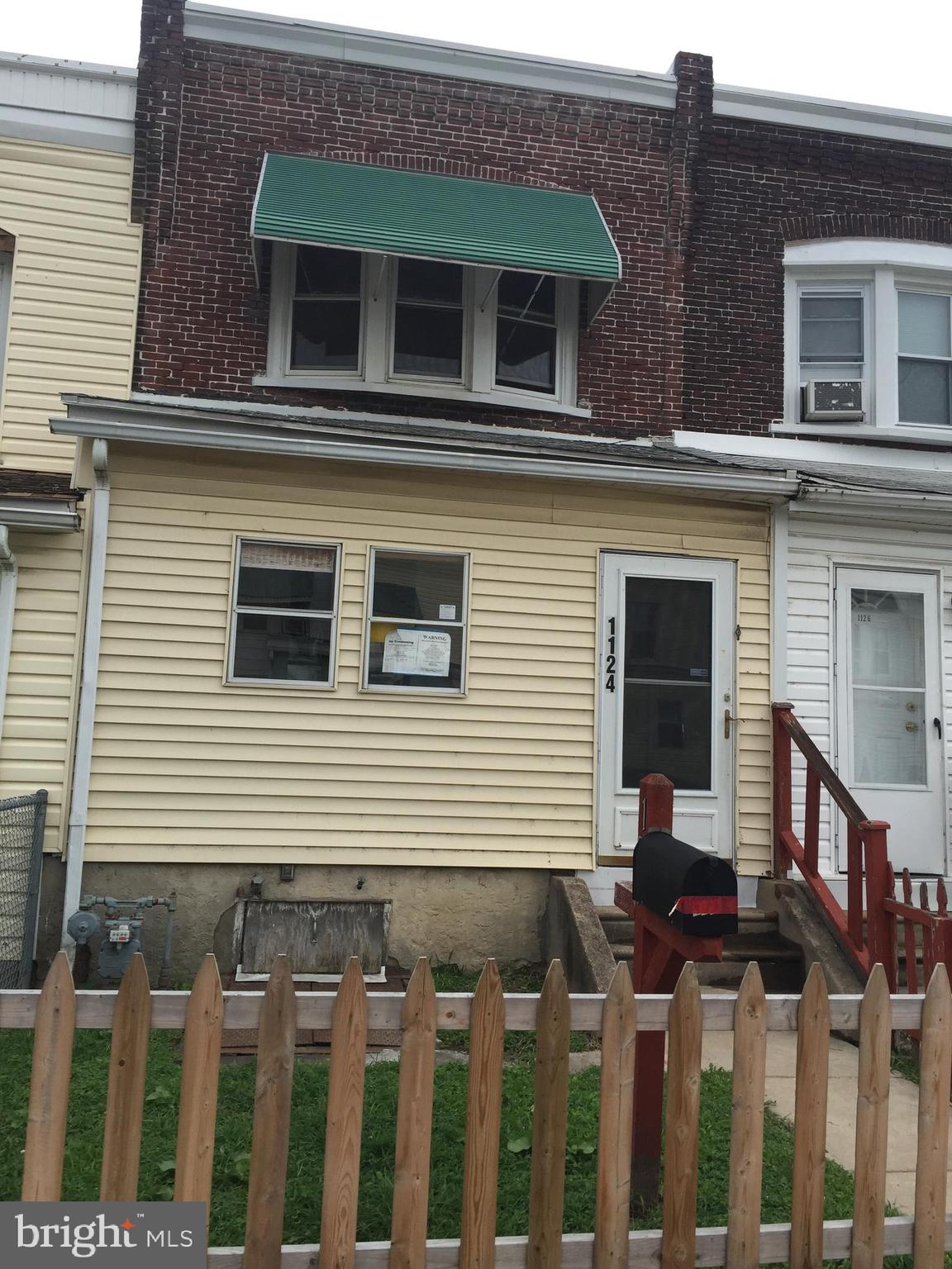 1124 GREEN STREET, MARCUS HOOK, PA 19061