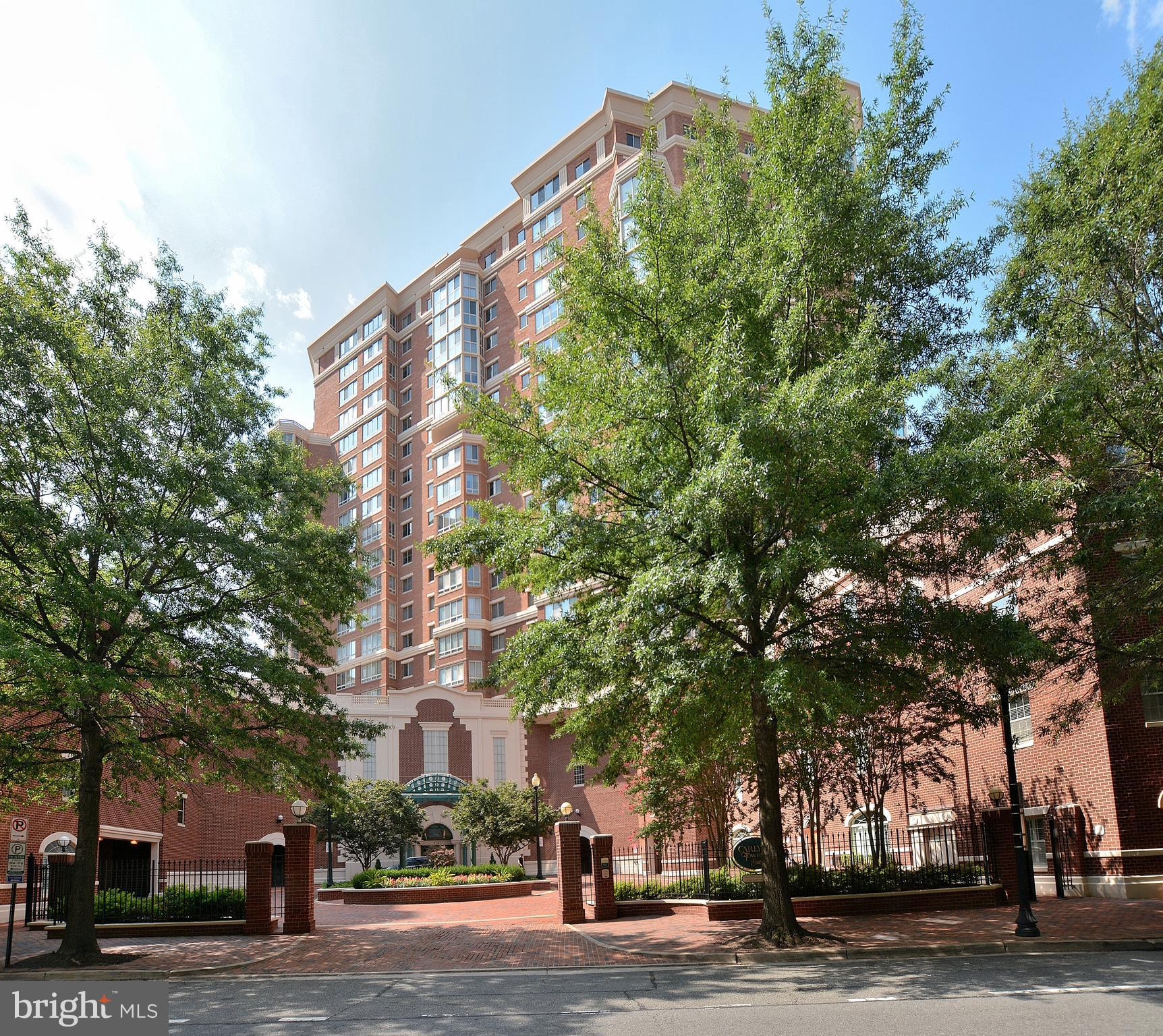 1 of only 6 TERRACE condos at Carlyle Towers! Wood floors, fresh paint, popcorn ceilings             scraped, new carpet - all  creating a fresh pallet  for you to make this Condo your own!  2 gar         spaces. 1-44 and 1-45.  Access to your HUGE         terrace from the MBR and the LR.