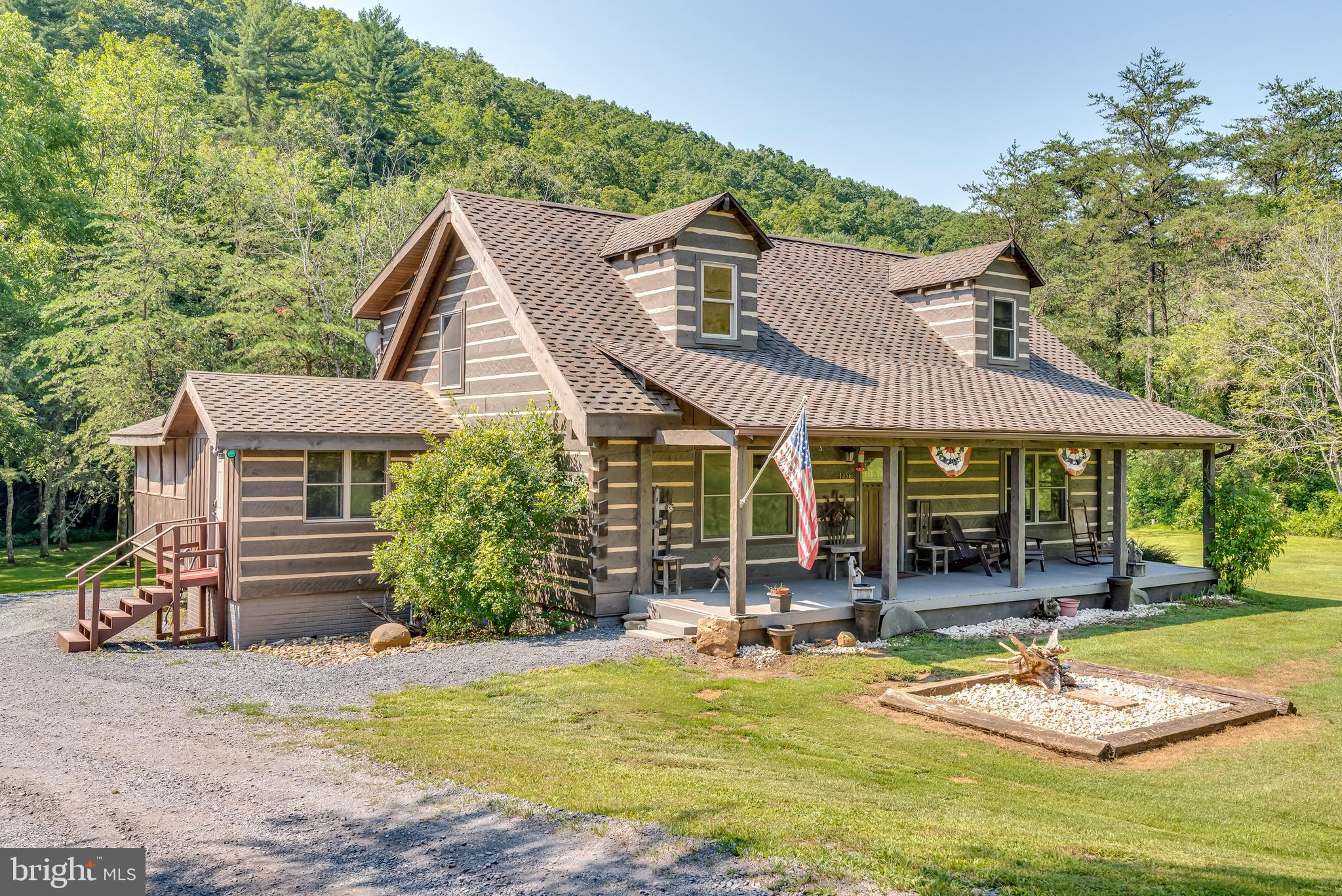 1456 UPPER SKAGGS RUN ROAD, BAKER, WV 26801