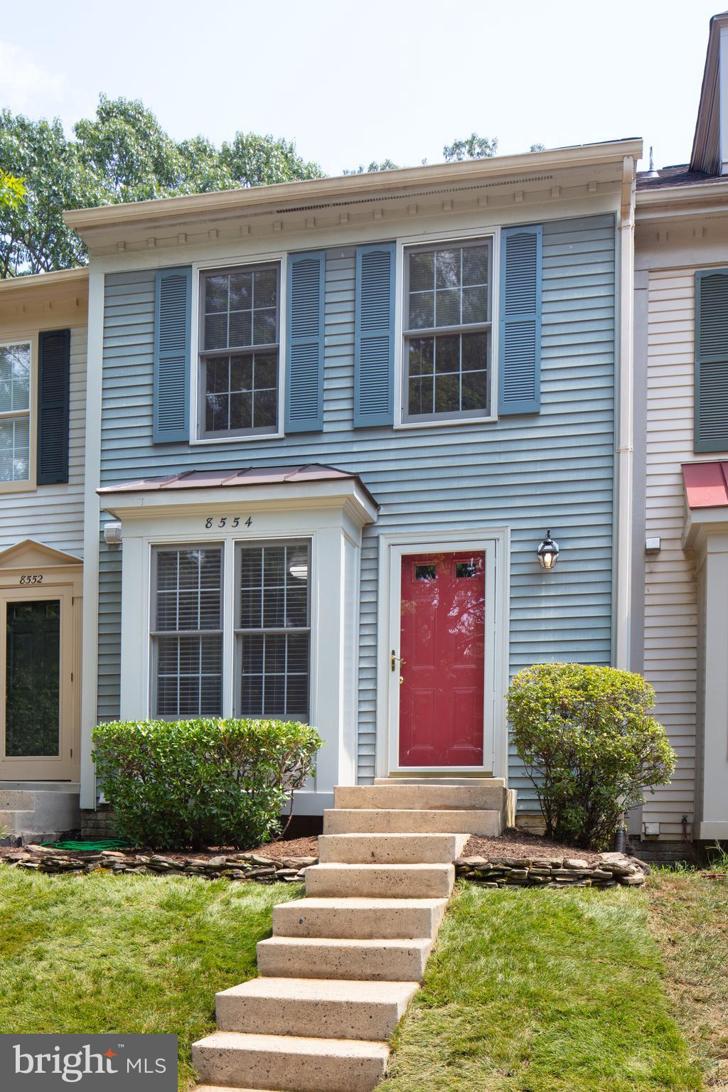 BACK ON THE MARKET WITH A BRAND NEW DECK!!!  Well Maintained 3 Level Townhouse * Bright and Clean * Move in Ready! * Backs to Trees * Cul de Sac Location * New Hardwoods on Main Level * New Carpet on Upper & Lower Levels * New Paint * New Granite in Kitchen * 2 Bedrooms & 2 Full Baths on Upper Lvl * Kitchen w/ Small Table Space & Lots of Cabinets * Living Room/Dining Room Combo * Deck Off Living Room * Very Nice Lower Level Family Room * Under The Stair Storage Plus Large Utility Room * Family Room Walk Out to Patio & Fully Fenced Back Yard * Super Commuter Location - Easy access to I-95, Fairfax County Parkway, Metro, VRE and Ft Belvoir.