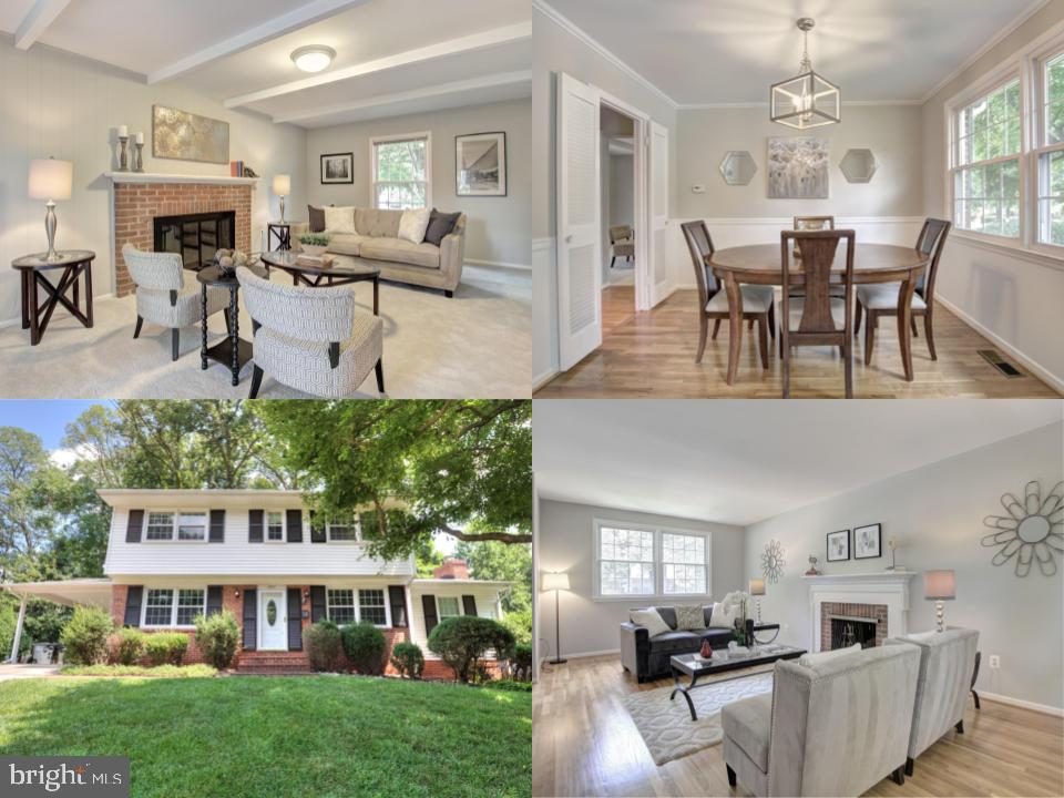 Charming 4 bedroom colonial in the heart of West Springfield. Entertain guests in your family room as you fix them a delicious meal from the kitchen! Kitchen includes a double wall oven, granite counter tops, and custom cabinets. Start your day with a cup of coffee in your cozy kitchen breakfast area. Gather around 1 of the 2 fireplaces on the main level in the living room and family room!Master bedroom features 2 spacious closets with built-in shelving for extra storage, and a master bathroom with an updated stall shower.Invite the neighbors over and grill out on your expansive back deck in the Summertime and enjoy the view and privacy of the mature trees that surround your backyard!Located in a highly sought after school pyramid: West Springfield Elementary School, Irving Middle School, and West Springfield High School.Direct access to Fairfax County Parkway, Franconia-Springfield Parkway, I-95, I-395, and I-495.