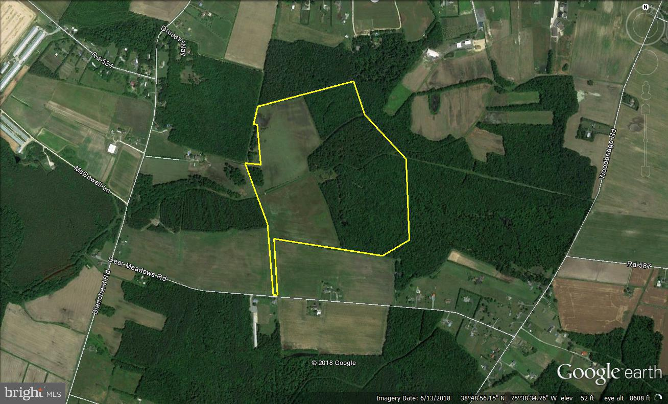 102 Acres DEER MEADOWS ROAD, GREENWOOD, DE 19950