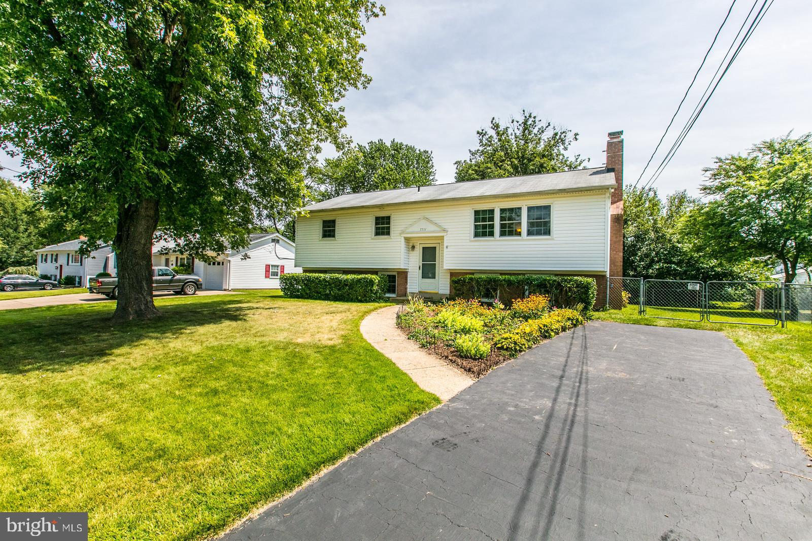 Meticulously cared for single family home on cul-de-sac in sought after Hayfield Farm! Updates include Pella windows throughout, 2018 water heater, 2014 roof, July 2019 Carpet on lower level, 2019 electrical panel (200 amp), 2019 paint throughout, and all stainless steel appliances. Main level includes stunning oak hardwood floors, spacious kitchen, wood burning fireplace, 3 bedrooms and, spacious full bath. Just off of kitchen you have the large deck and screened in porch with ceiling fan, which is perfect for entertaining guests, or for enjoying the views of your private rear yard. Walk-out lower level includes 4th legal bedroom, full bath, storage in utility room, laundry, and large recreation room with wood burning insert that can heat the entire home! Flat rear yard is fully fenced with 10ft gate to pull through truck, etc. Ample storage in attic w/pull down ladder, and 10X12 ft shed in rear yard! NO HOA, Community pool membership conveys with the home!