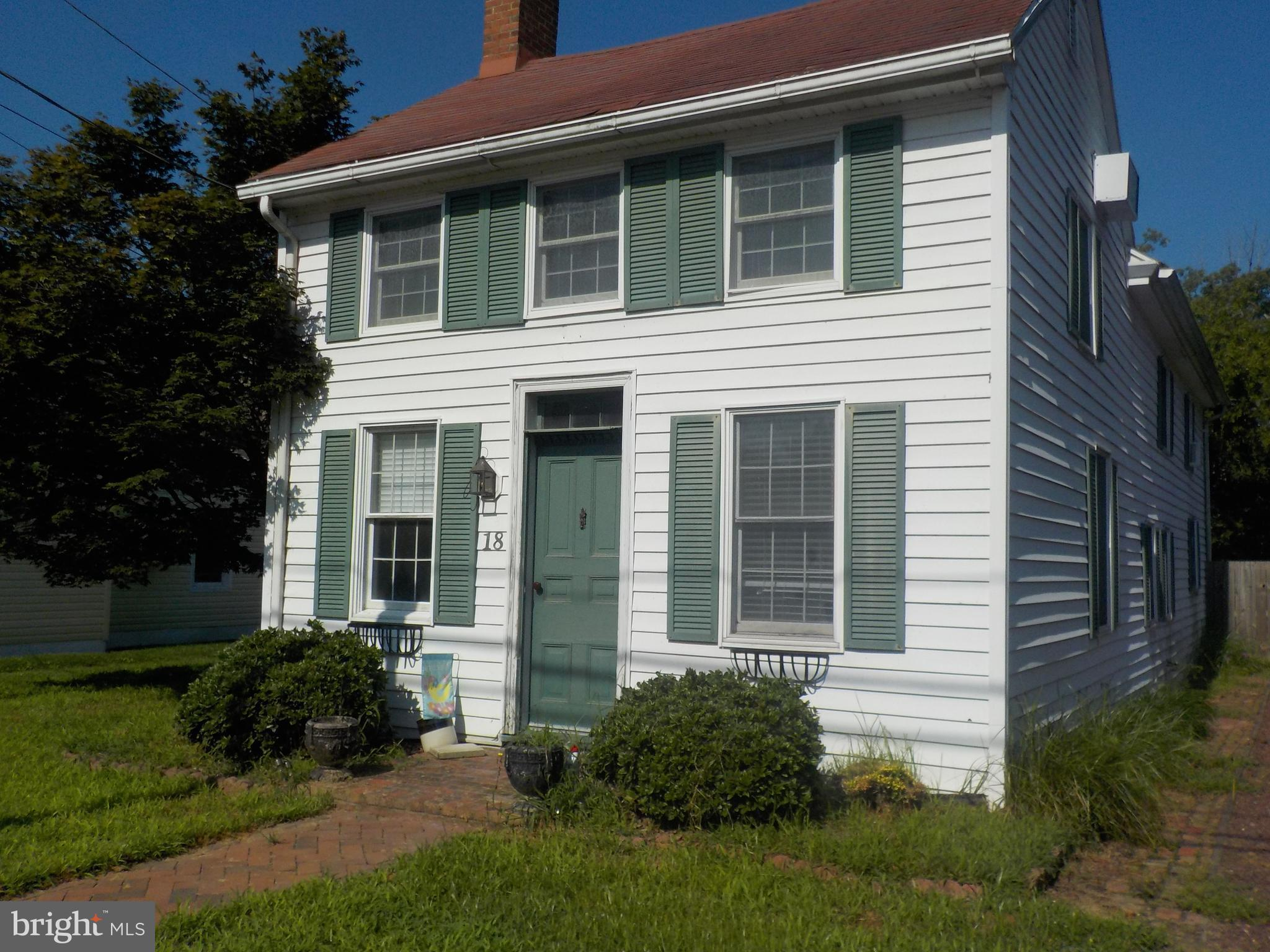 18 SOUTH MAIN STREET, EAST NEW MARKET, MD 21631