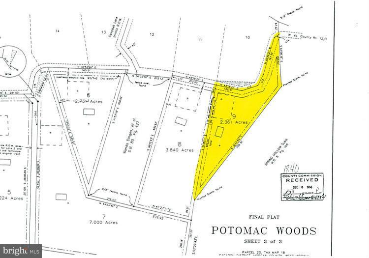 9 POTOMAC WOODS, GREAT CACAPON, WV 25422