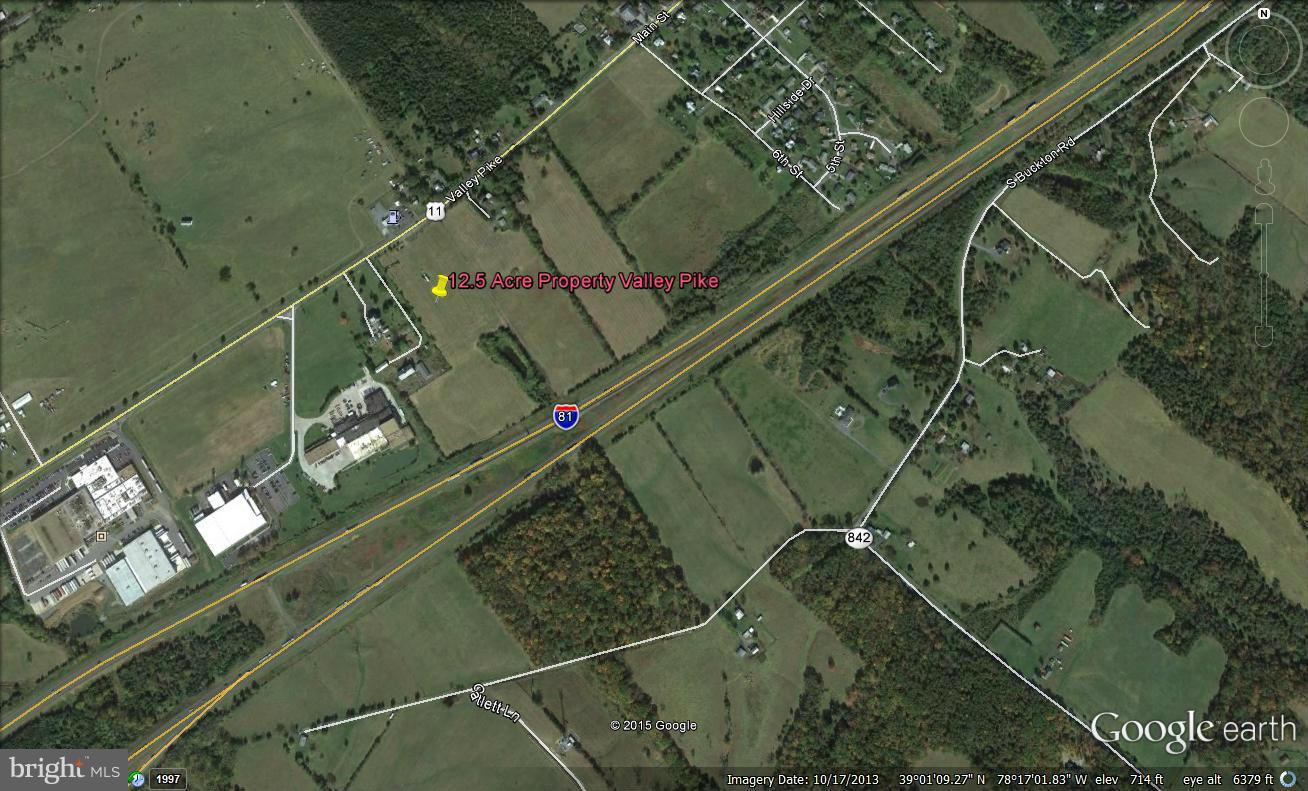 12.5 Acres VALLEY PIKE, MIDDLETOWN, VA 22645