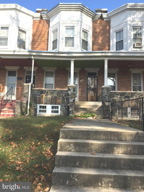 Great house for an Investor in a very good area.  Large 4BR porch front home w/ great details including columns, pocket doors, hardwood floors & window seat in master bedroom with built in storage.  One car garage in rear. Big yard.  Close to shopping and transportation.  Home needs a little TLC but will make a excellent rental with high ROI.  Come & take a look & add this one to your Portfolio!