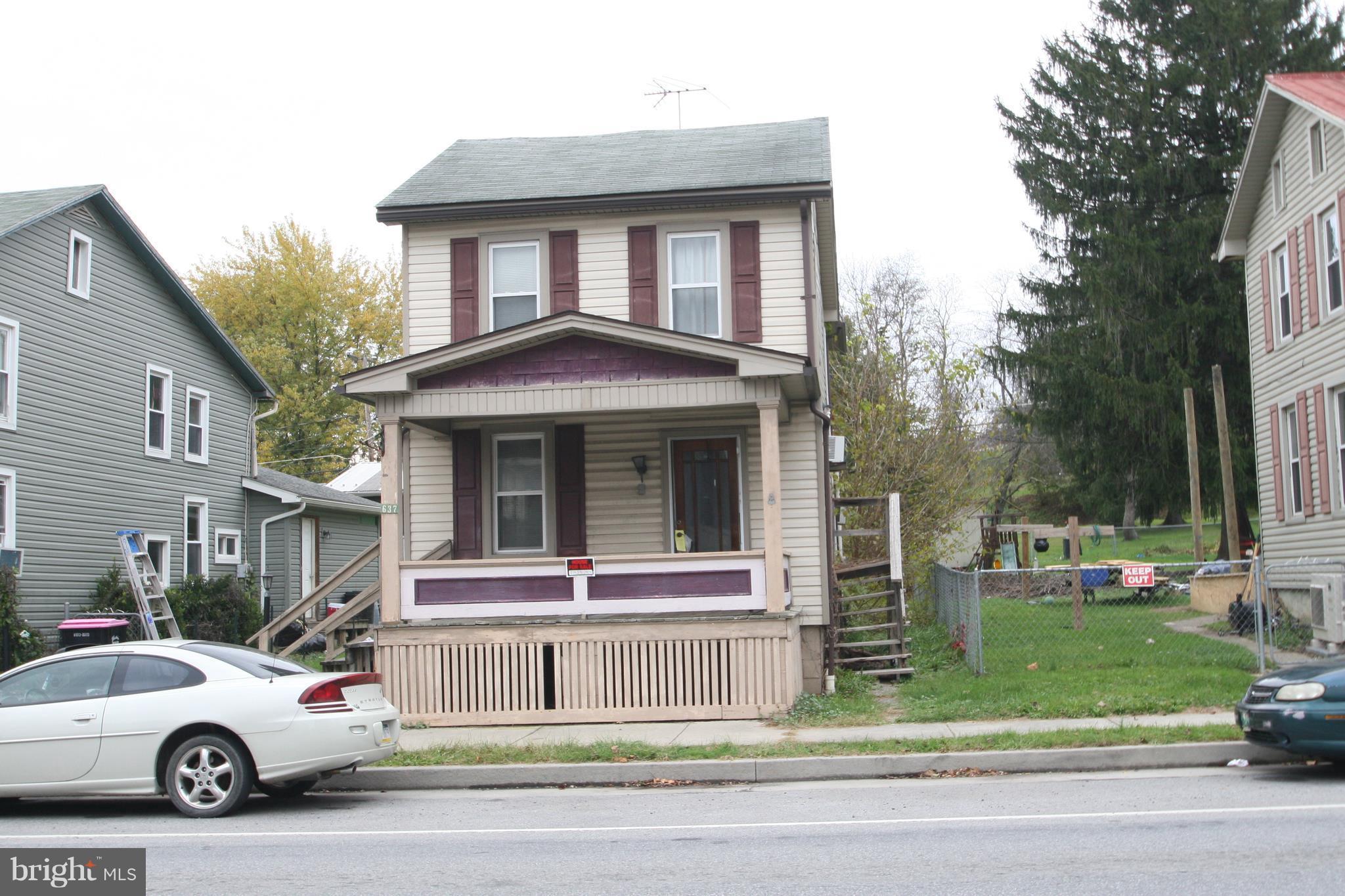 637 RIDGLEY STREET, ORBISONIA, PA 17243