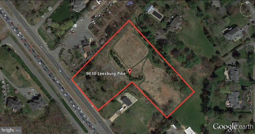 AMAZING BUILDING OPPORTUNITY on 3.4714 acres on Route 7! Build in the heart of the fastest growing area in the region. No home to tear down, but plenty of room to build up to three custom homes! Last undeveloped lot in this area of neighboring luxury estates. BRING YOUR BUILDERS and be close to Tysons and all major commuting routes, including the new silver line!