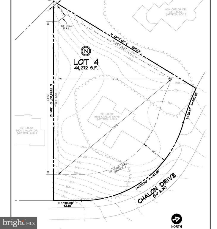 RARE 1 ACRE HOMESITE AVAIL FOR HIGH-END CUSTOM HOME! Situated within Bradley Hills Grove & among homes ranging in value from 3-8M+, this property is being offered without tie to builder or architect. Choose your own team & create your dream home here! This prime lot offers 228ft of width at its center & is mostly flat with natural vegetation areas providing privacy on all sides. Call for info!