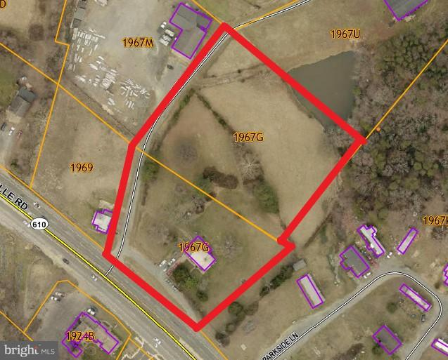 4.45 AC FRONTING GARRISONVILLE RD & DELEWINSKI LN.  APPROX 240 FT FRONTAGE ON RT 610.  PLANNED SUBURBAN W/COMMERCIAL POTENTIAL. LEVEL & OPEN.  PROX TO SHELTON SHOP COMMERCIAL W/WEIS, MCDONALDS & MEDICAL.