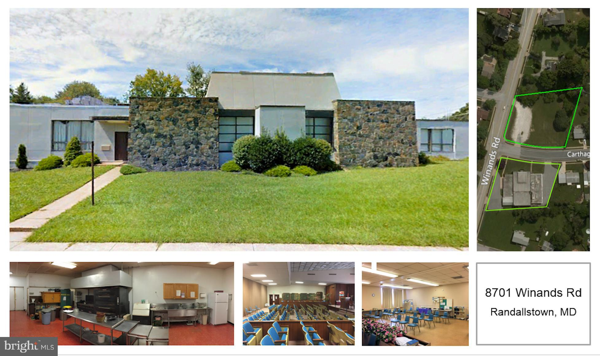 8701 WINANDS ROAD, RANDALLSTOWN, MD 21133