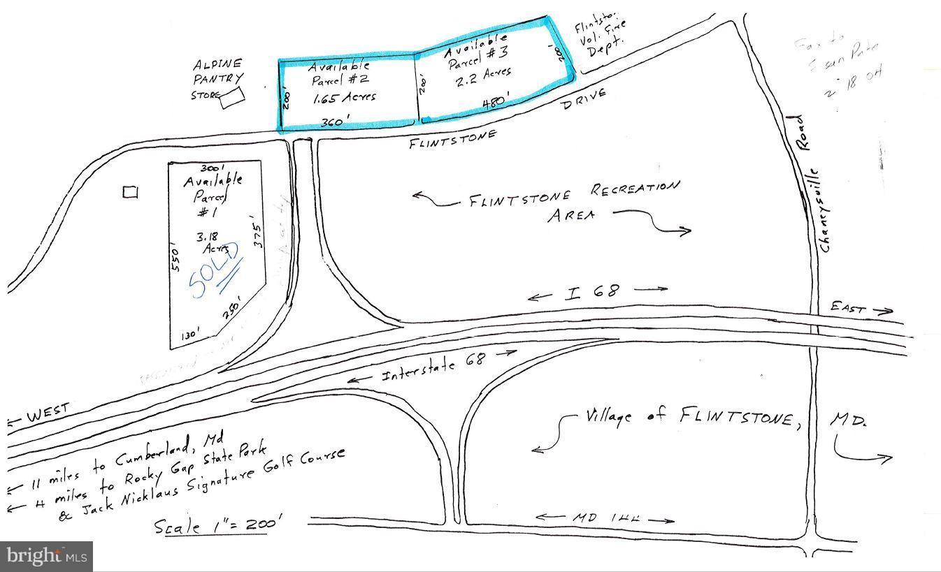 FLINTSTONE DRIVE, FLINTSTONE, MD 21530