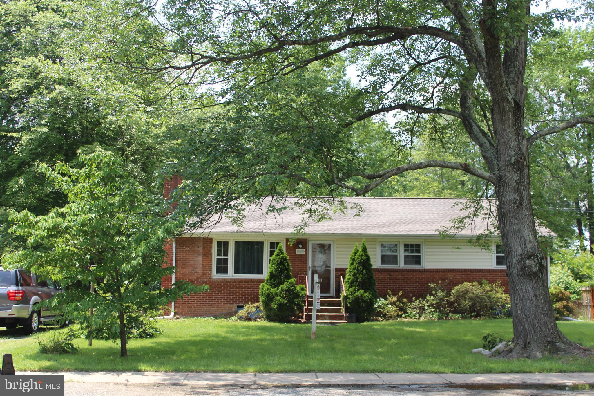 """PRICE REDUCED.Full Brick Rambler near everything in Alexandria.Upgraded Kitchen and Main level Bathrooms (2015). LL bath (2005). New Roof (3/2018) and New windows(2014).Spacious finished basement w/Fireplace. Big flat lot w/fire pit. Backs to Edison HS. 5 minutes to Kingstowne Subway Sation,10 min to Springfield mall, 18 min to Old Towne,25 min to Ft. Belvoir.Quick access to 395/495.""""AS IS"""""""