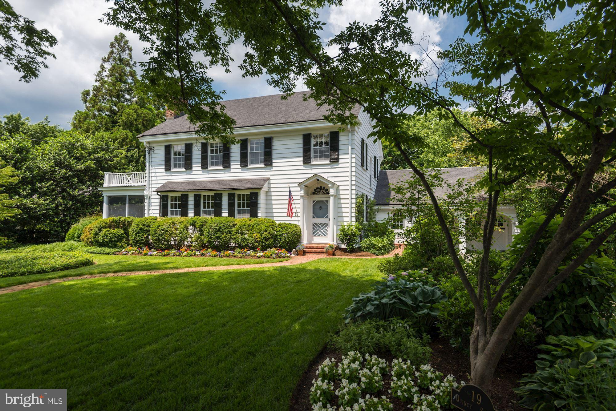 19 QUINCY STREET, Chevy Chase, MD 20815