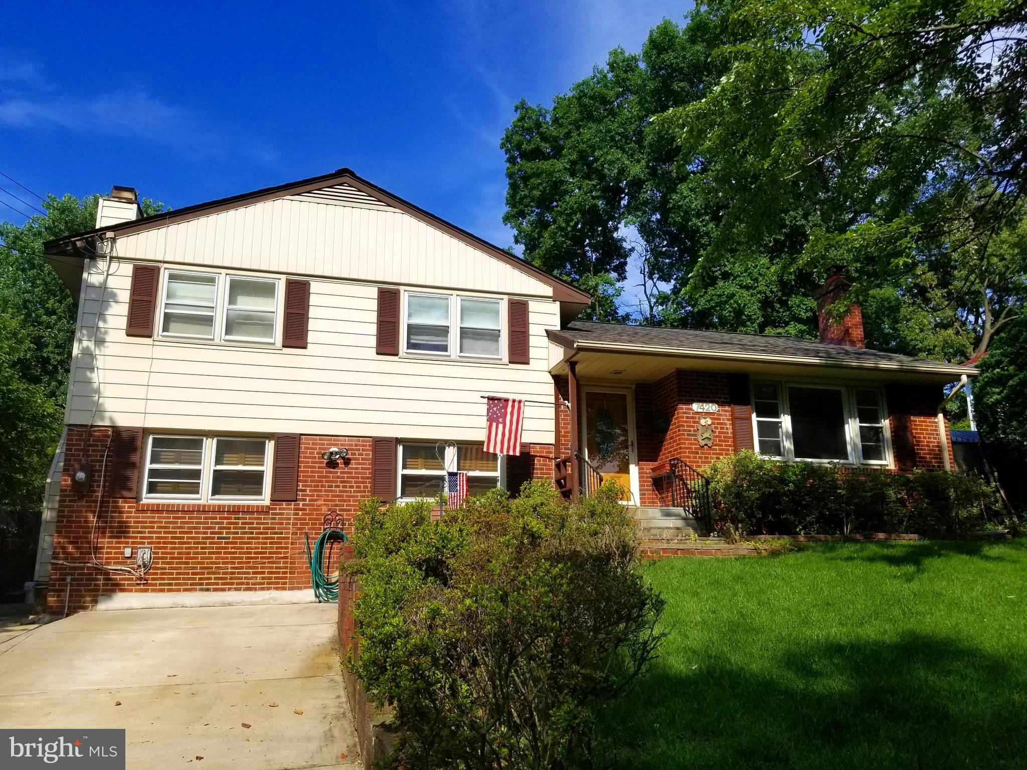 Well maintained home in a great location near Accotink Park.  Public transportation, minutes to shopping, easy commute throughout the DC metro area.  4 bedroom with 2 fireplaces.  New Roof.  Magnificent back yard with in-ground pool surrounded by patio and decking, perfect for entertaining.