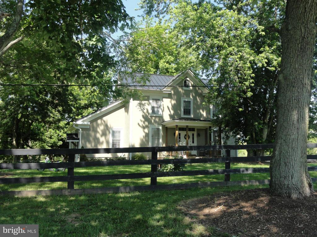 "Beautiful 135 acre working farm in western Loudoun County.  Recently remodeled country farm house w/ mstr bdrm on main lvl, theater room w/ 137"" HD projector, gas fired wood stove, whole house back up generator, detached office w/ full bath. Private setting w/ numerous farm outbuildings all in great shape. Development potential. Not in Conservation Easement."