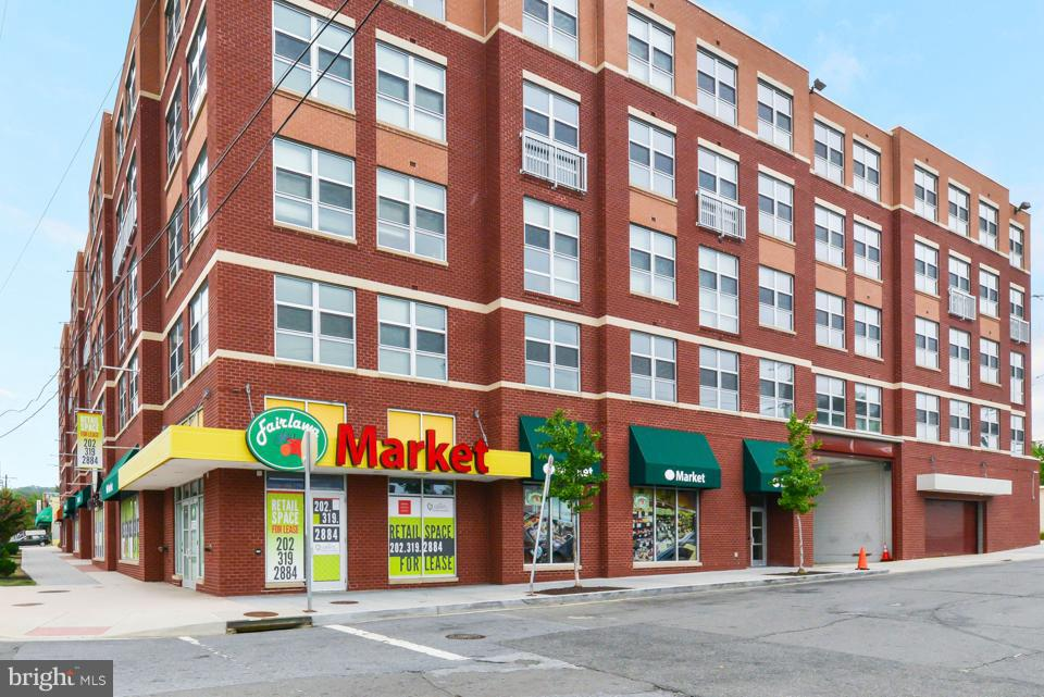 Prime commercial retail space located on the 1st floor of the Grays apartment building at 2323 Penn Ave SE. Three spaces available A) 3,085 sf @33 psf  and includes kitchen hood and bathrooms B) 2,319 sf @$33.psf and C) 1,694 sf end cap space @ $40 psf. NNN's $5.50 psf. Total 7,098 sf space can be leased together or individually.