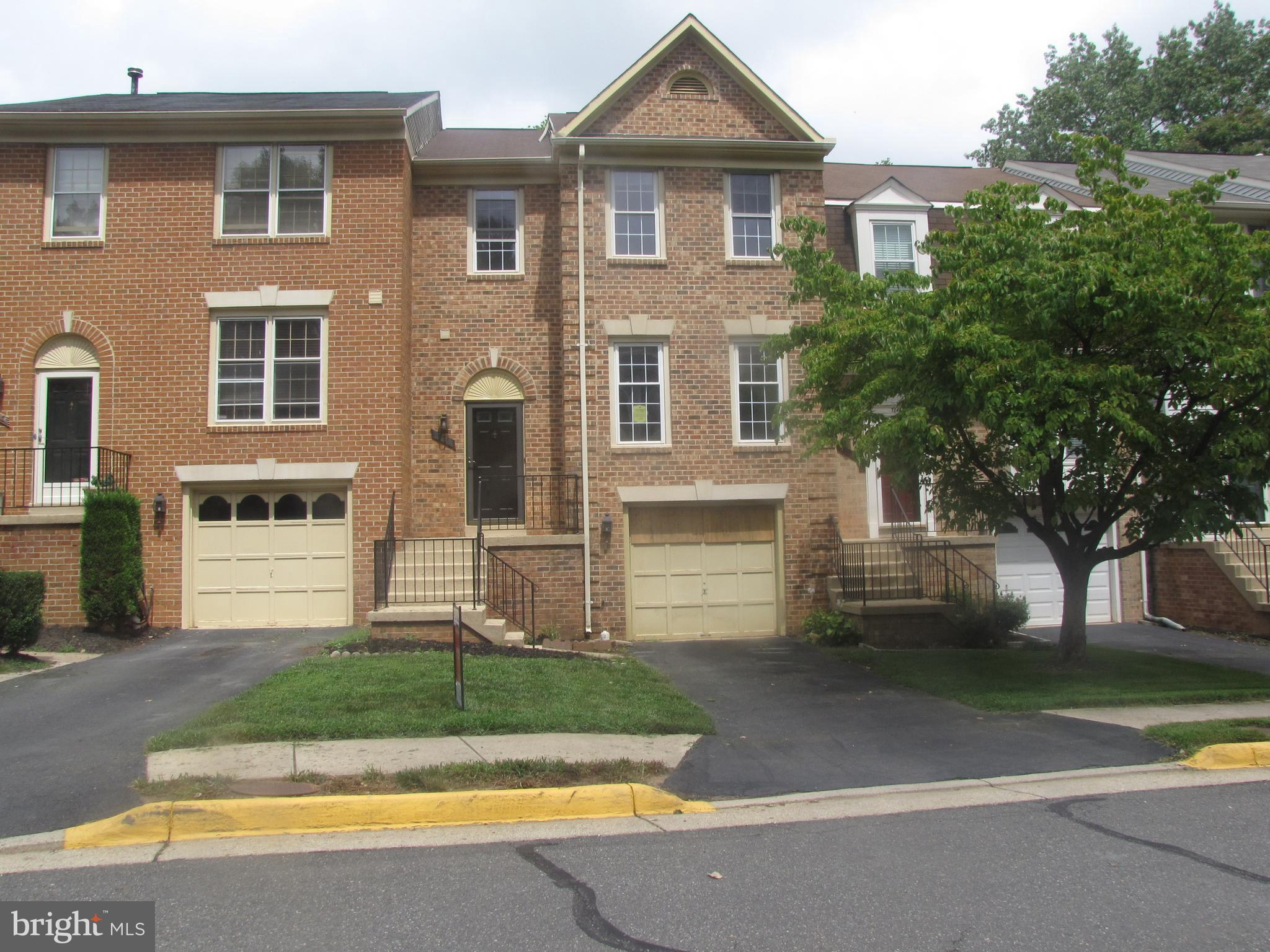 Available 08/20/2018. Delightful Townhome with 4 Bedrooms & 2.3 Baths brick front townhouse with over 2700 sqft in highly sought after Daventry neighborhood. Huge eat-in kitchen with corian countertops , that leads out to spacious private deck. Large Master Bedroom, with walk-in closet.walk-out lvl basement with wood burning Fireplace. A lot of storage space, Fully fenced rear, Finished Basement!!