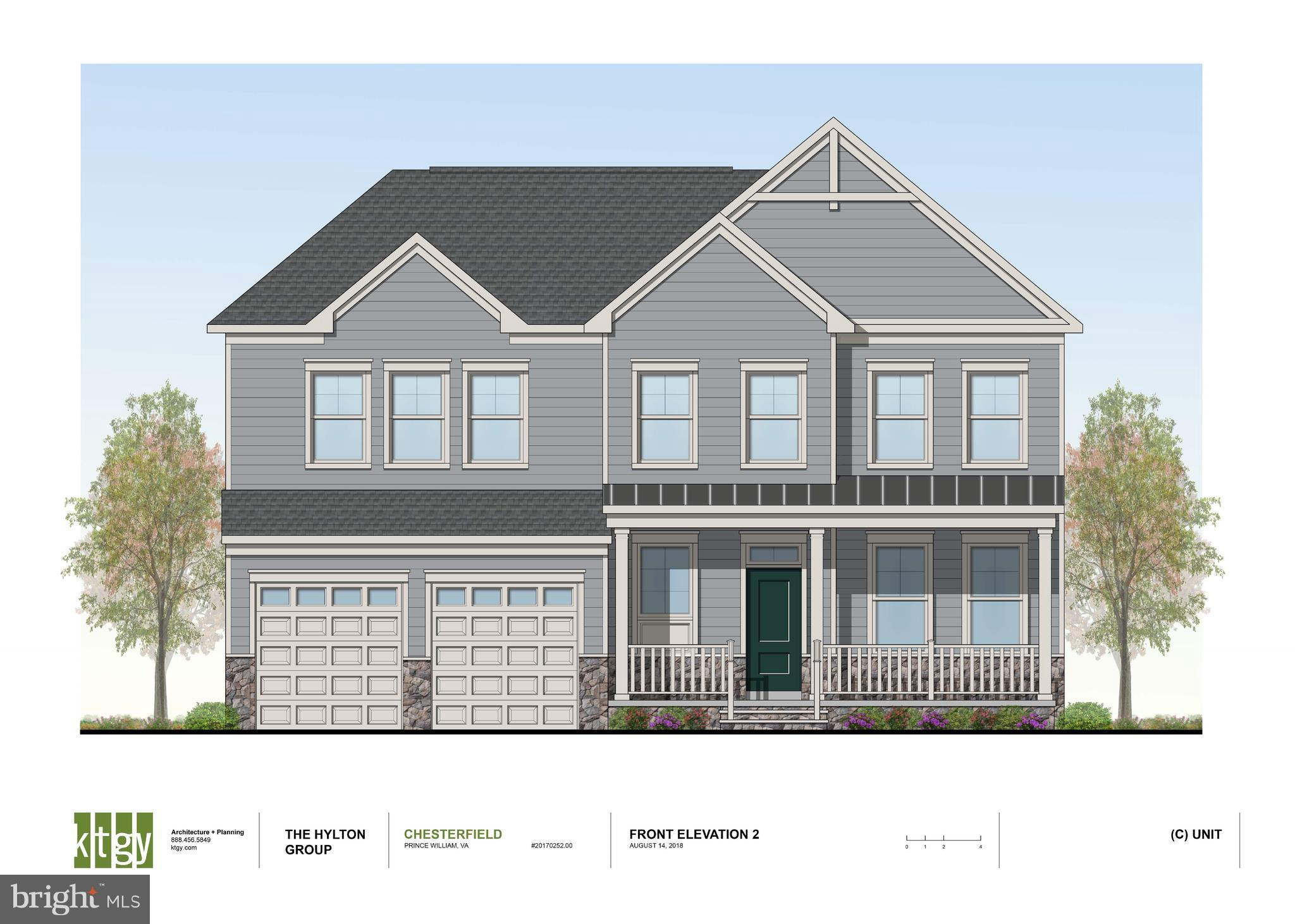 """**Brand New Chesterfield Model to be built.  Kitchen with 42"""" Cabinets, Granite & SS Appliances.  HW Floors in Foyer & Kitchen. 4 Piece Crown Molding & Chair Rail. Ceramic tile in all Baths. Concrete Driveway, Sodded Yard, Landscaping, Cast Iron Mailbox & So much more in options!"""