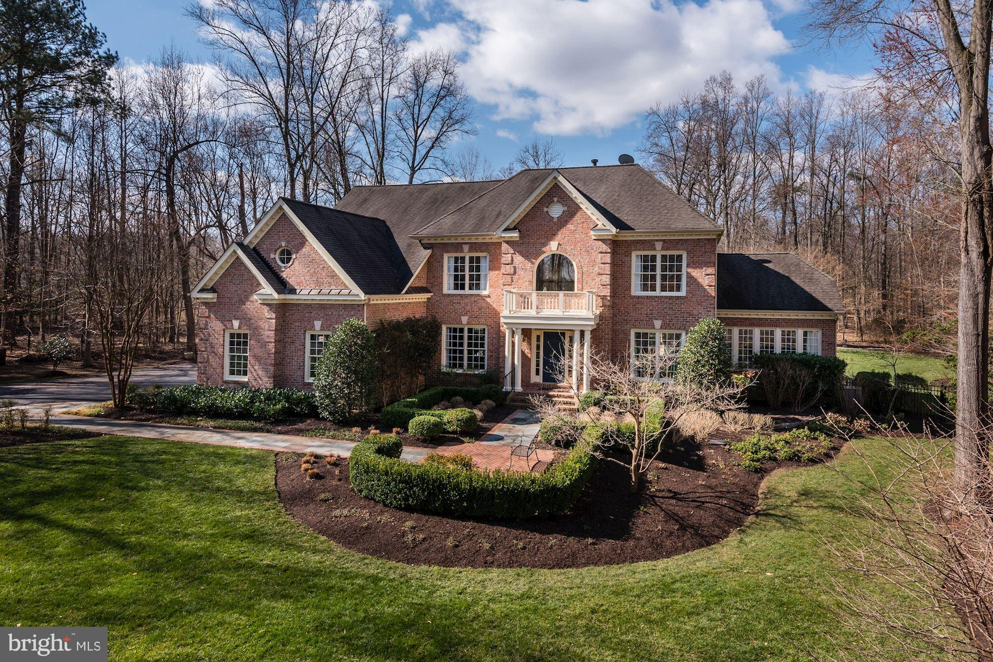 Stunning 6000sqft 5br, 5ba, 3 Car Gar Custom Built SF Home in Gated Community On The Potomac! Elegant Main Level Perfect for Entertaining W/Gourmet Kitchen, Hardwood Floors, Spacious MBR W/Sitting Rm, Huge Walk-in Closet & Luxury MBR Bath! Lovely Sunroom W/Full Bath, Professionally Landscaped, Heated Pool, Full Fin Basement W/Media, Billiard & Workout/Sauna Rooms! 3 Car Garage! Boat Dock & Lift!