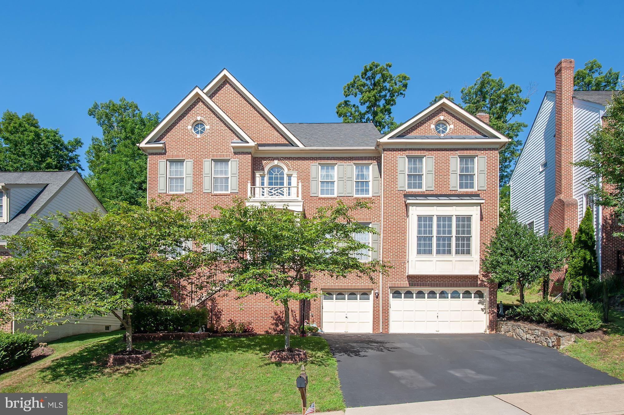 Spectacular 4-lvl 6BR 5.5BA SFH showcases hardwoods, high ceilings, huge basement & inviting KIT w/new stainless apps & opens to Morning Rm. Spacious Family Rm offers fireplace & bay window. Impressive MBR boasts cathedral ceiling, sitting area, walk-in & MBA w/Jacuzzi soaking tub, sep shwr, 2 vanities & water closet. 3 add~l BRs & washer/dryer on MBR lvl. 2 BRs on 4th floor. Near 95/495!