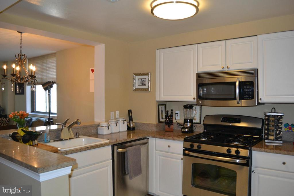 BEAUTIFUL, UPDATED SUN-DRENCHED ONE BEDROOM IN WINDSOR PLAZA. MARBLE FOYER, GRANITE COUNTERS, HARDWOOD FLOORING, SOLARIUM, FIREPLACE, LOTS OF CLOSET SPACE, POOL, UNDERGROUND PKING, AND A STORAGE UNIT. LOCATED JUST A COUPLE OF BLOCKS FROM ALL BALLSTON HAS TO OFFER INCLUDING METRO! NOTHING COMPARES TO THIS PRISTINELY-KEPT CONDO. 2 TRAFFIC LIGHTS FROM 66