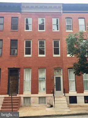 Property for sale at 104 Mount St S, Baltimore,  MD 21223