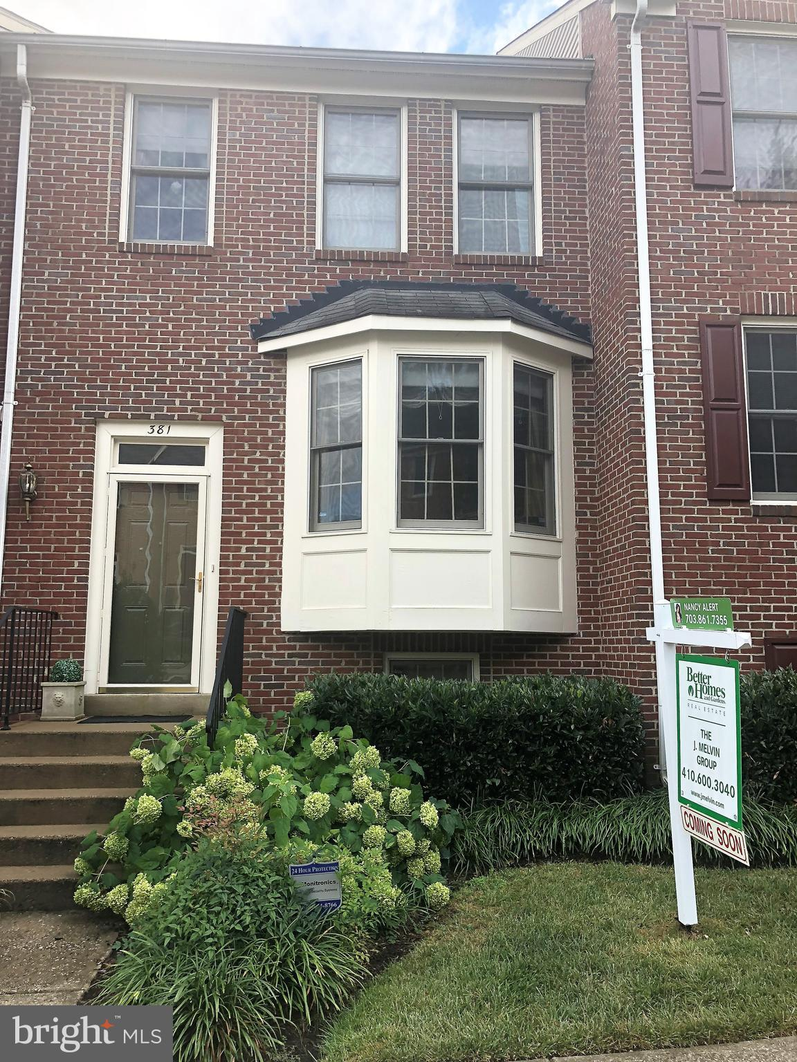 Spacious 3 level townhouse conveniently located close to everything, 1 mile to Blue Line, I-95/495/395, 21B Metro Bus to the Pentagon. Minutes to Shirlington, OldTowne, Kingstowne & DC. This brick townhouse has 4BR, 3.5BA, gas fireplace, large deck and patio, breakfast room, separate DR, spacious LR, Gourmet Kitchen with tile floors, wood floor through out the main level, basement stairs and hall.