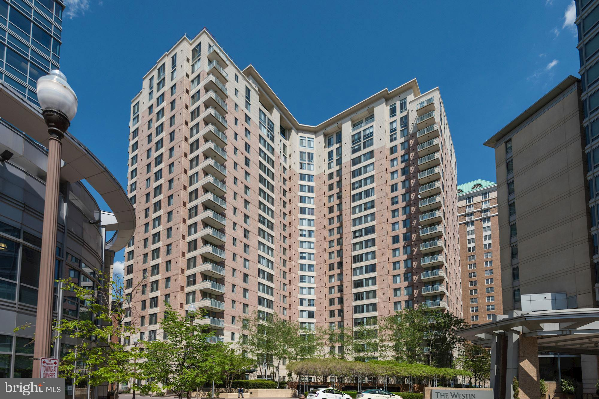 Stunning 1BR/1BA + Den condo in the Continental at Ballston w/ private balcony! Don't miss this immaculate, boutique urban retreat w/ HW floors, gourmet kitchen, gas FP + garage parking. Just steps from Ballston Metro, shops, dining + entertainment, this haven in the heart of Arlington is not to be missed! Rooftop pool, fitness center, business center, front desk concierge 24x7! OPEN SUN 1-4!