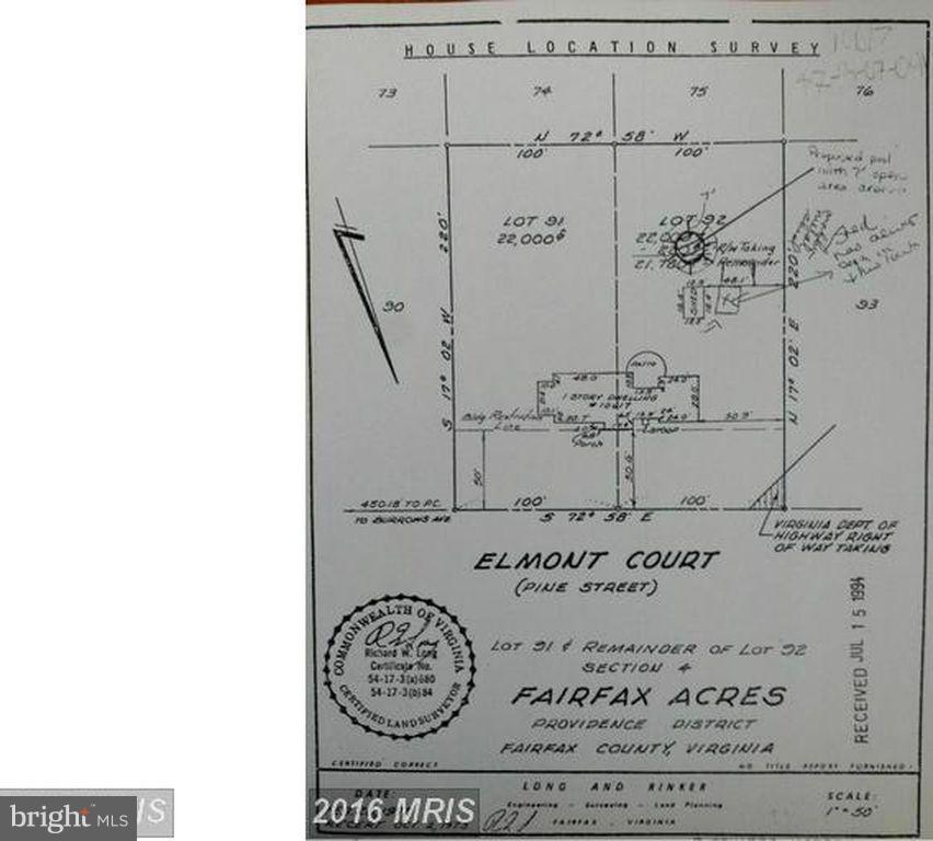10617 ELMONT COURT, FAIRFAX, VA 22030